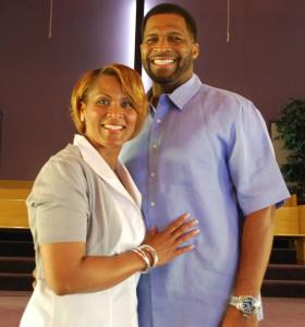 Pastor Rene` and Pastor Carolyn